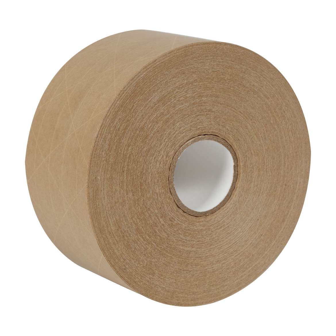 Re-inforced gummed paper tape