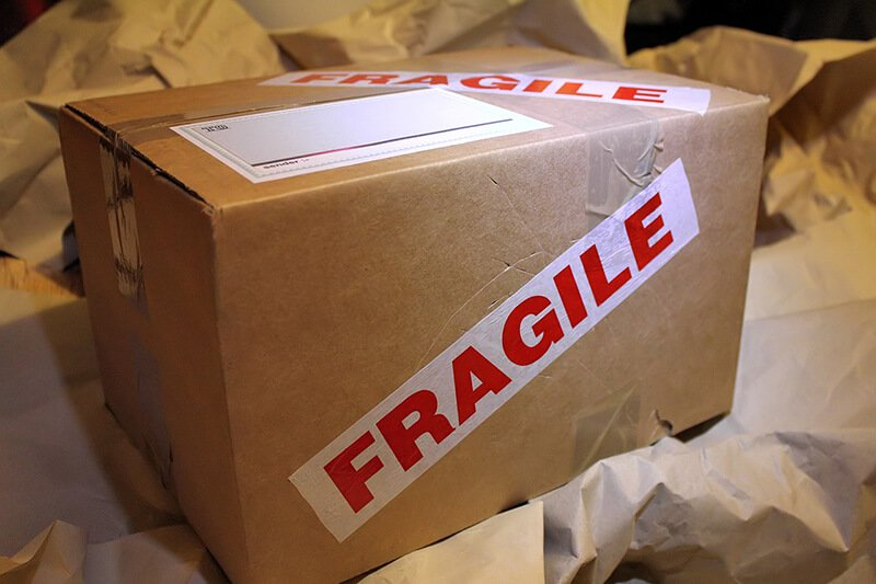 fragile-label